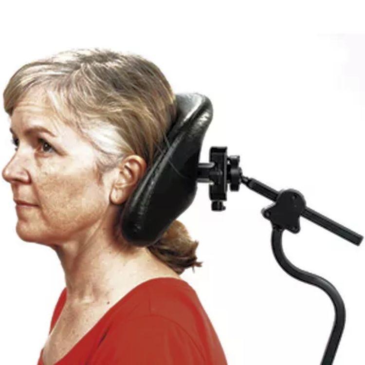 Axion Rotating Wheelchair Headrest - Axion Rotary Inteface