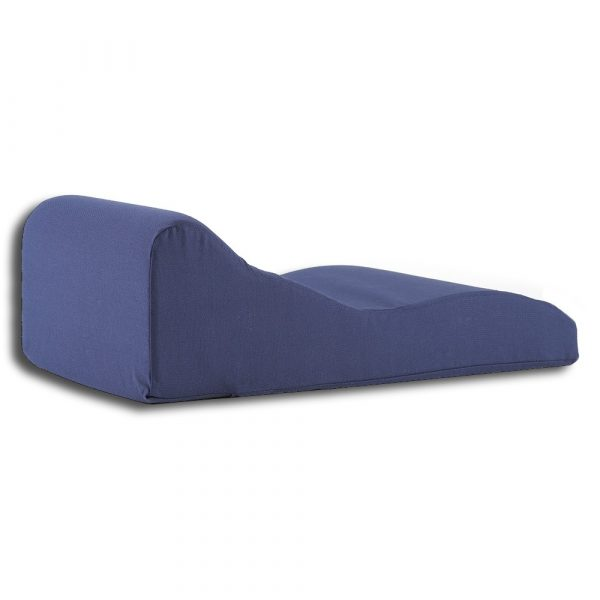 blue traction pillow