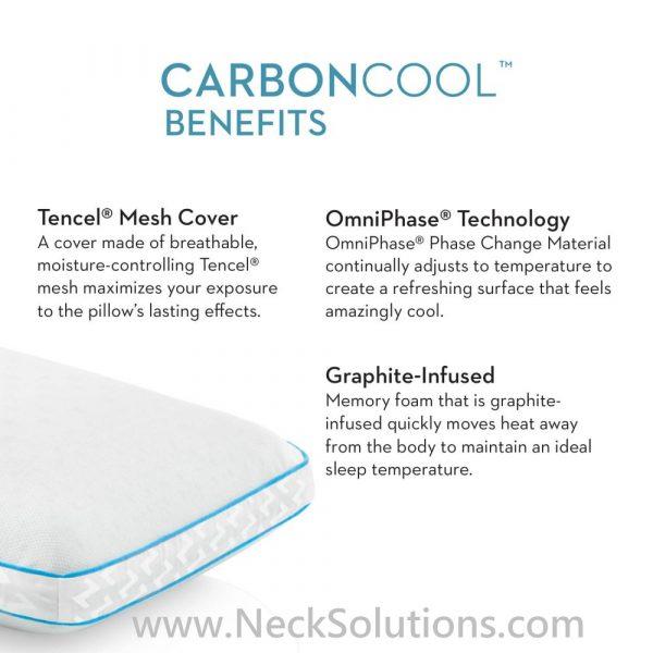 carbon cool pillow benefits