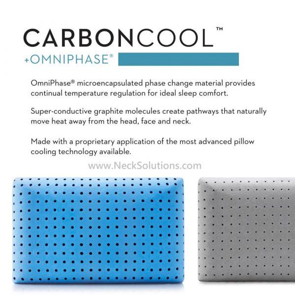 carbon cool pillow details