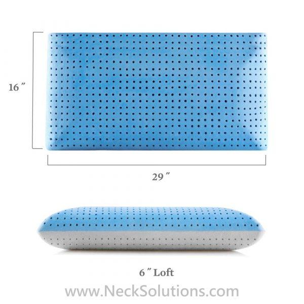 carbon cool pillow specs