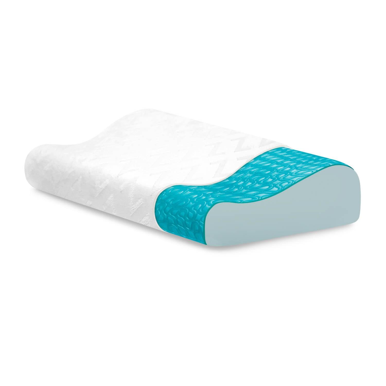 Memory Foam Neck Pillow   Soft Gentle Support Pillows