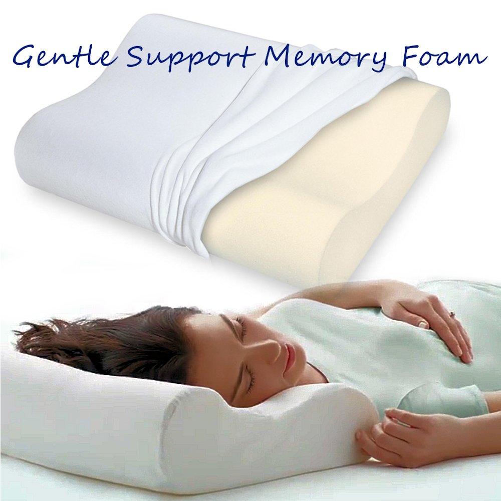 Memory Foam Contour Pillow   Gentle Ergonomic Support