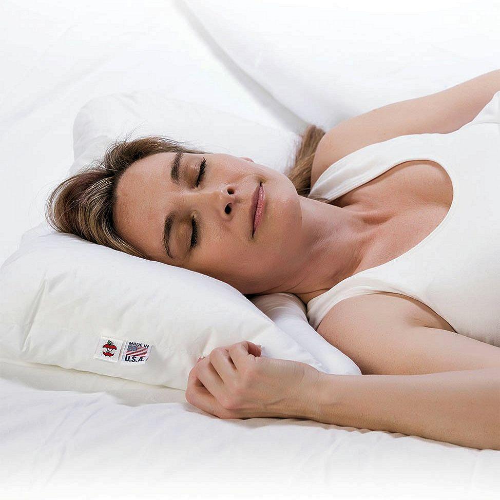 Neck Align Cervical Pillow Built In Neck Roll