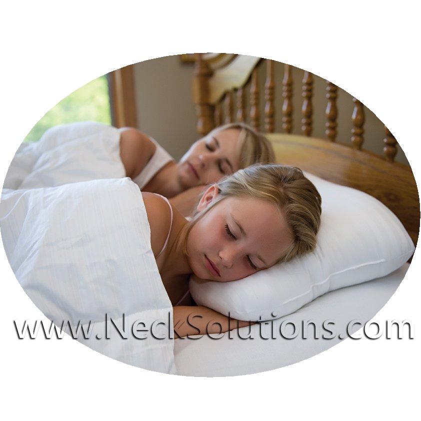 Comfort Neck Pillow Temperature Regulating Cervical Pillow