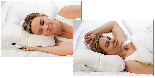 neck pillow positions