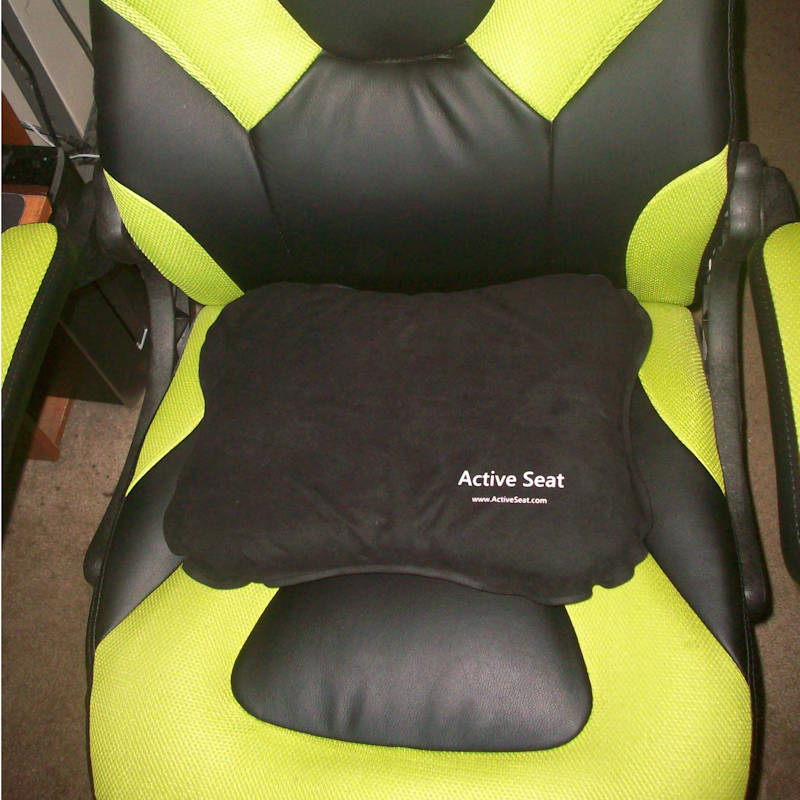 Active Seat Inflatable Seat Cushion Promotes Healthy Sitting
