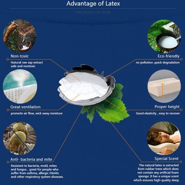 latex pillow benefits