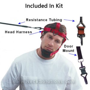 head harness neck exerciser