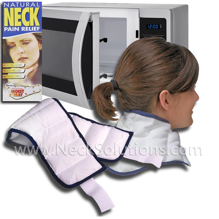 Microwavable Neck Wrap Moist Heat