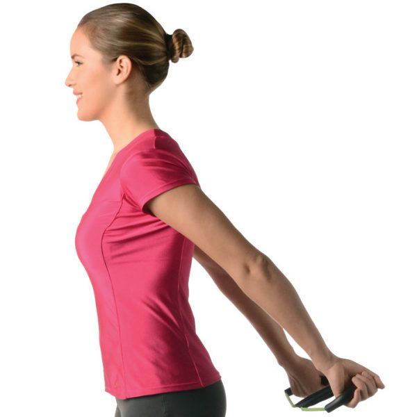 posture brace stretching