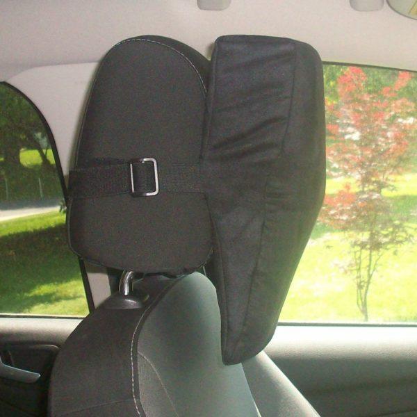 whiplash protection headrest