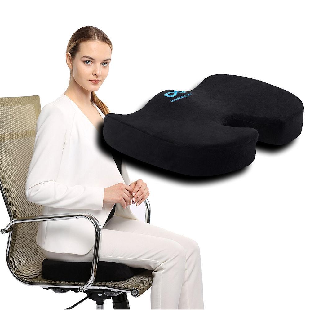 Best Coccyx Cushion - Ergonomic Memory Foam Design