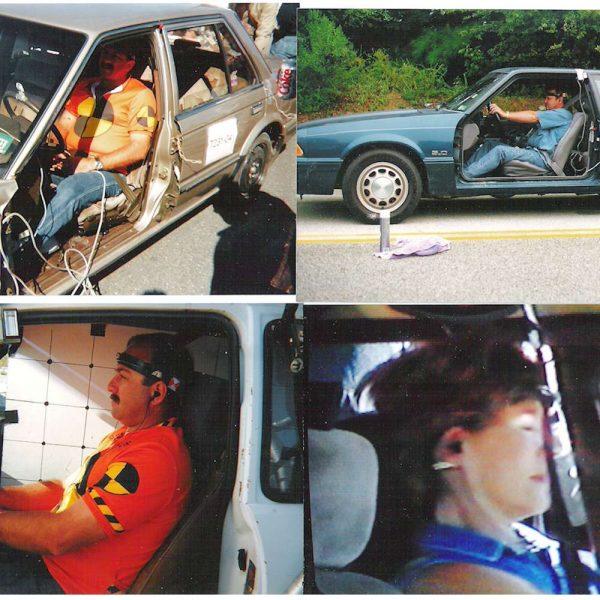 add on headrest crash test