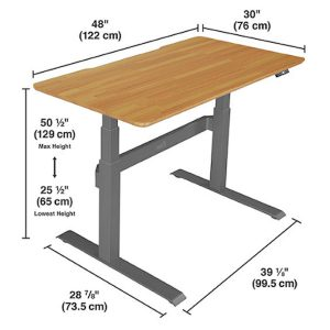 variable height desk