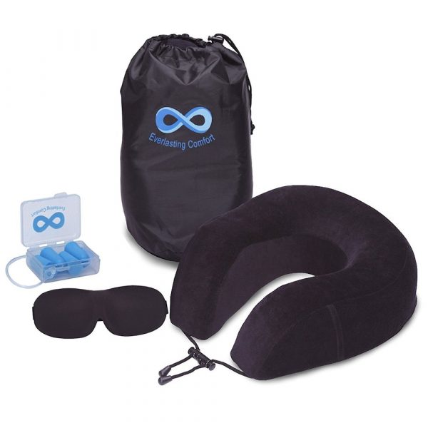 travel neck pillow kit