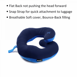 twist neck pillow