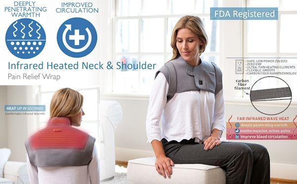 infrared neck wrap
