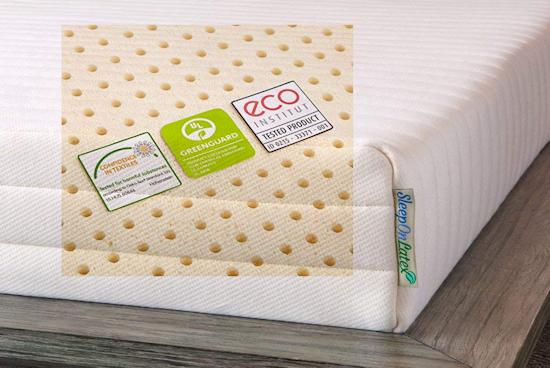 100% latex foam mattress