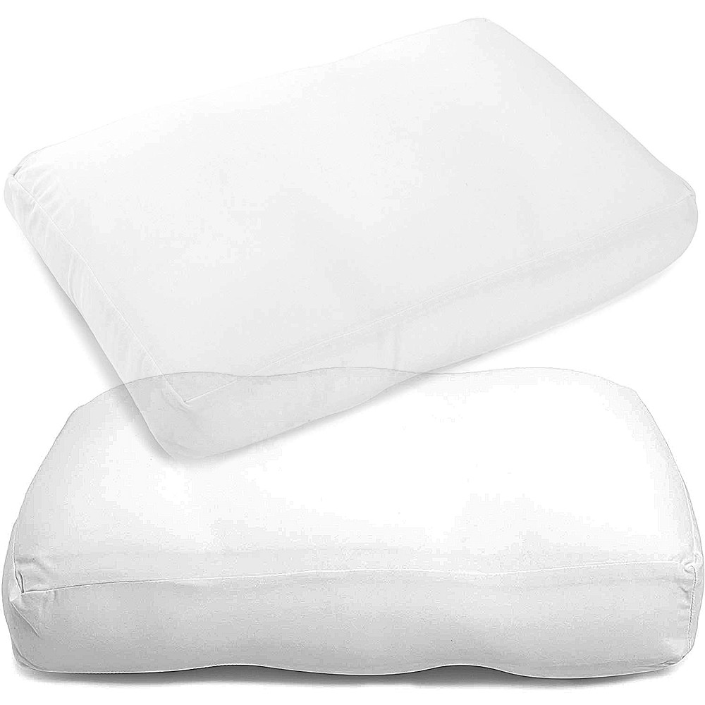 Microbead Pillow Cloud Comfort Cervical Support