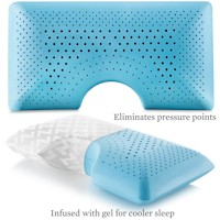 shoulder accommodating pillows