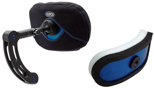 apex wheelchair headrest