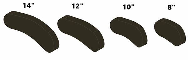 apex headrest oval