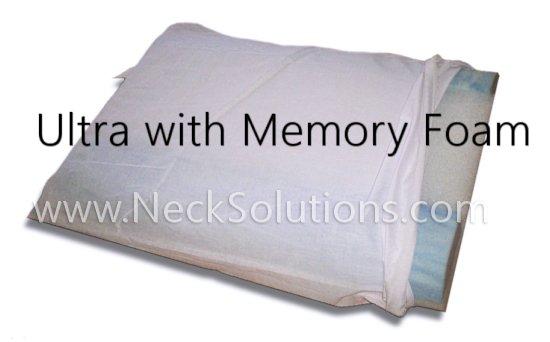 ultra pillopedic with memory foam