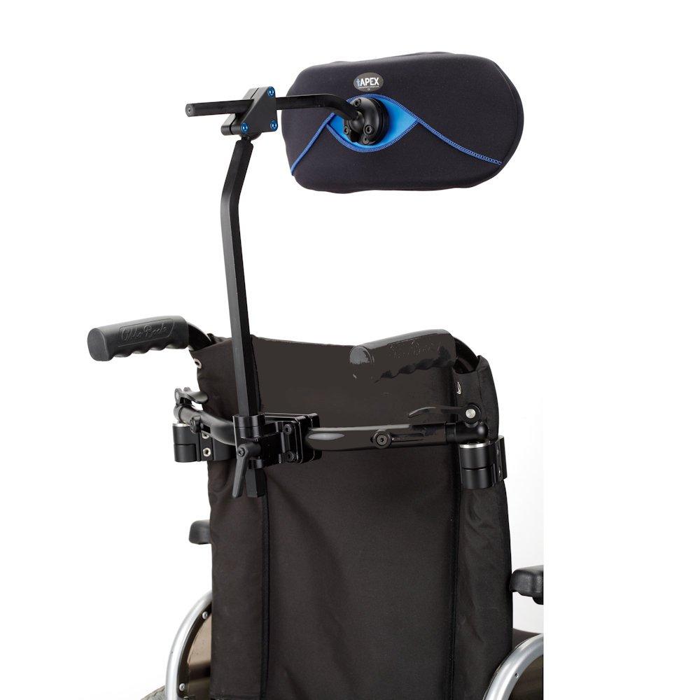 Wheelchair Headrest Adapter Ataches Headrest To Regular