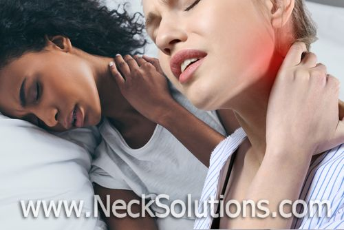 common neck pain causes