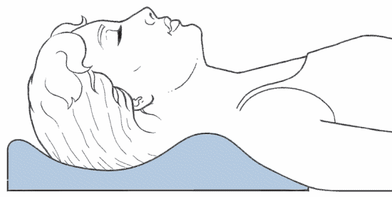 best sleeping pillow to restore neck curve