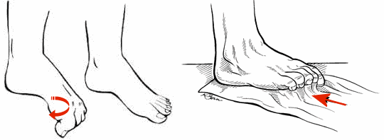 toe strength for standing balance